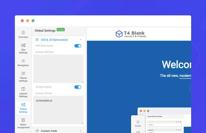HOT] T4 Joomla template framework STABLE released | Joomla