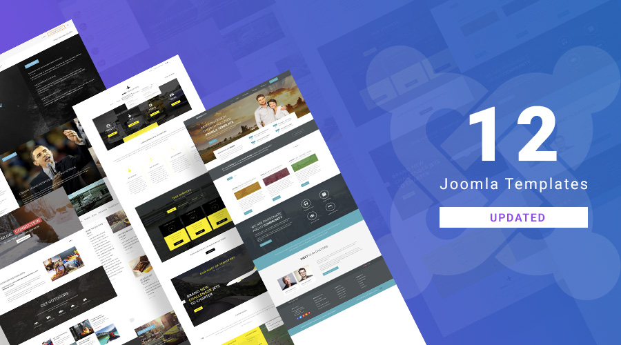 12 more Joomla templates and extensions updated for Joomla 3.9.3