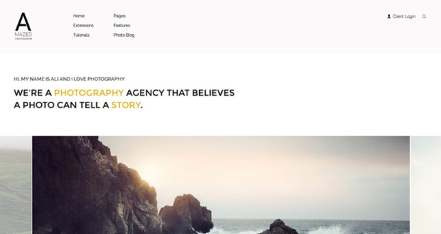 S5 Amazed Photography - Version 1.0.2 Joomla template upgraded for Joomla 3.9