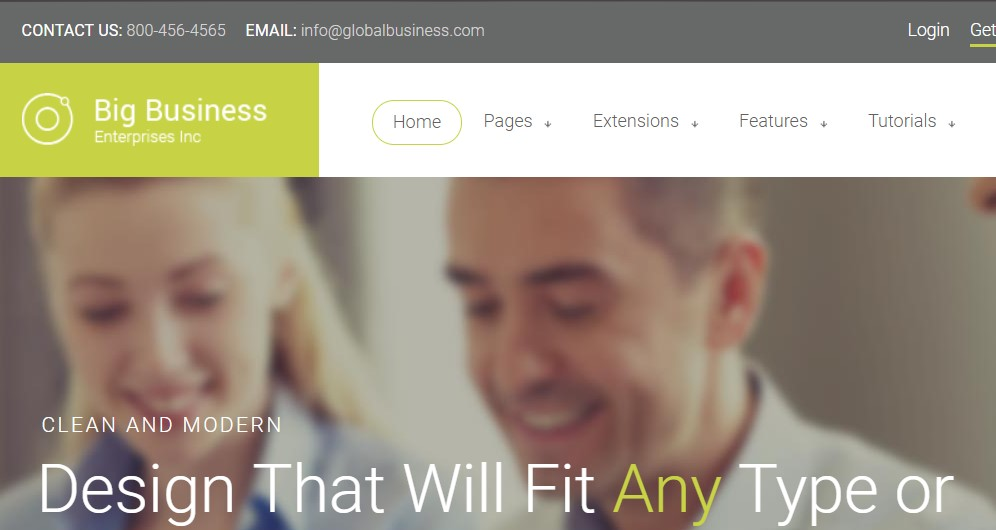 S5 Big Business - Version 1.0.2 Joomla template upgraded for Joomla 3.9