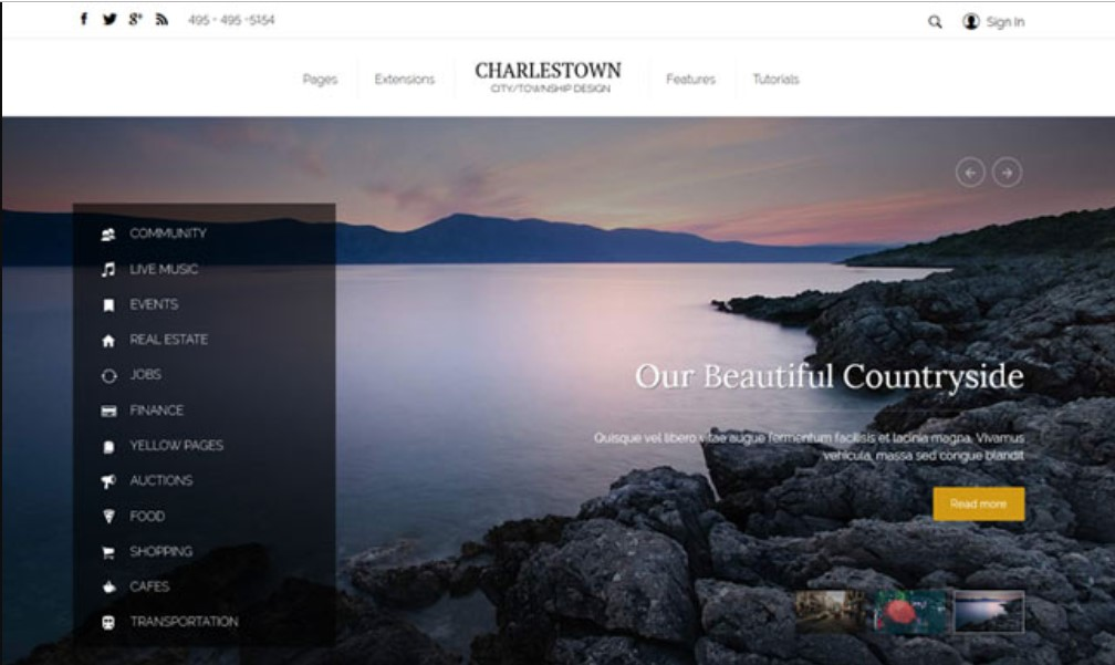 S5 Charlestown - Version 1.0.2 Joomla template upgraded for Joomla 3.9