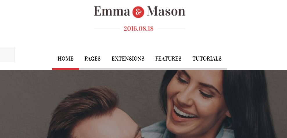 5 Emma and Mason - Version 1.0.2 Joomla template upgraded for Joomla 3.9