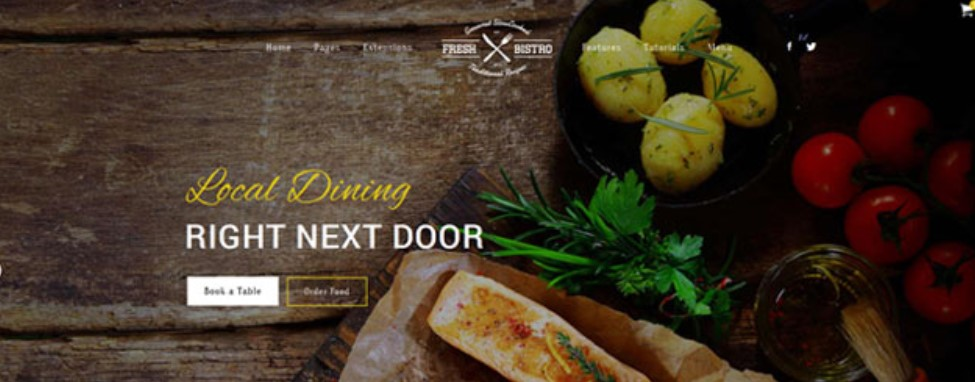 S5 Fresh Bistro - Version 1.0.2 Joomla template upgraded for Joomla 3.9