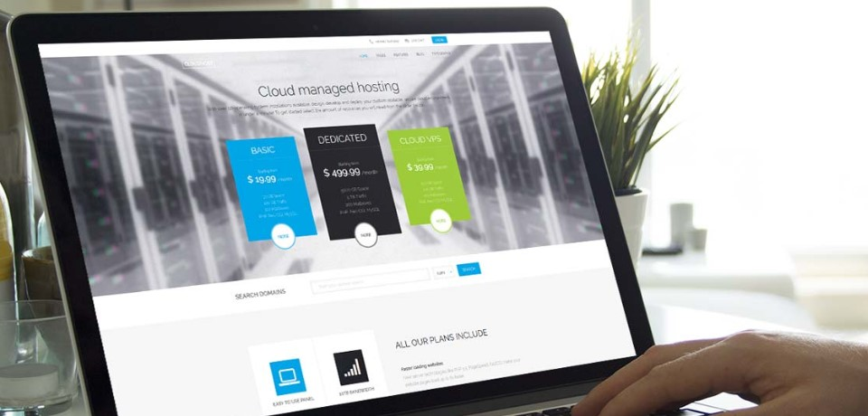 hosting joomla template update