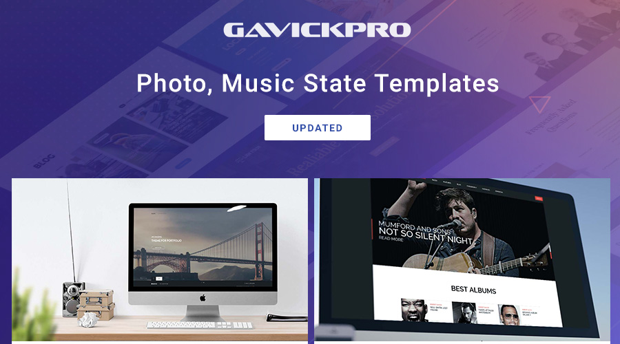 2 more gavick joomla templates updated for Joomla 3.9.3