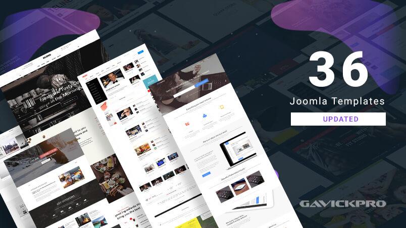 更新了36个gavick Joomla模板