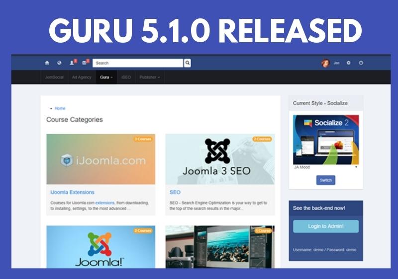 guru 5.1.0 update released