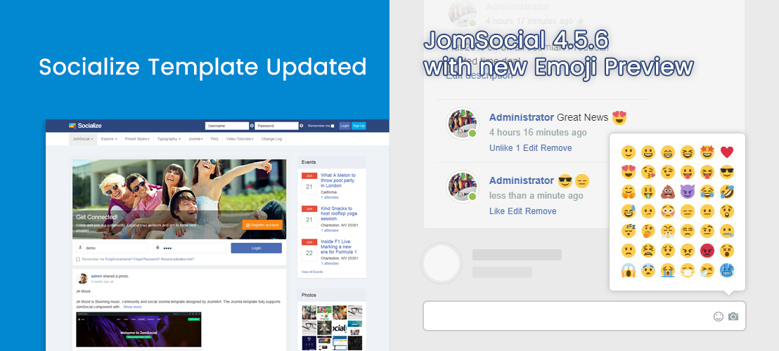 Socialize 2.1.6 updated
