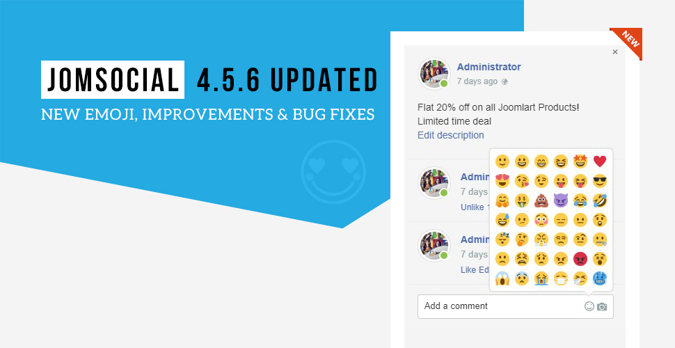 JomSocial 4.5.6 release for new features improvements and bug fixes