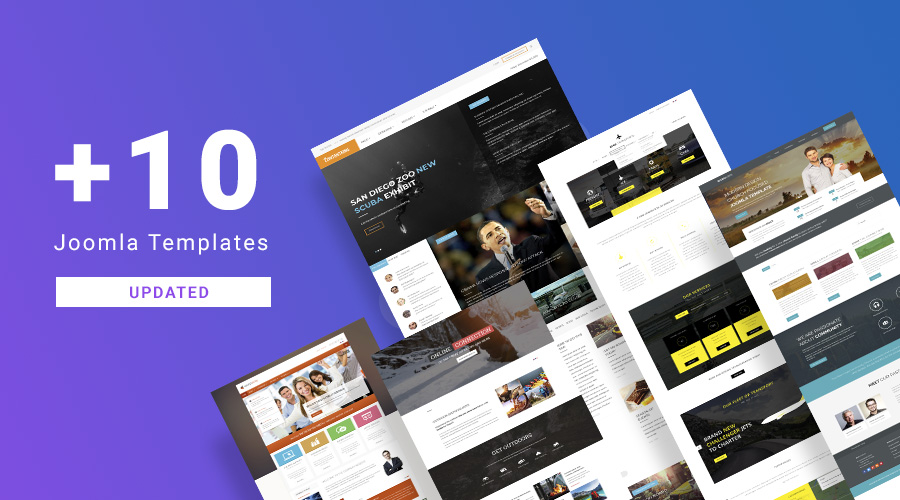 10 more Joomla templates and extensions updated for Joomla 3.9.3