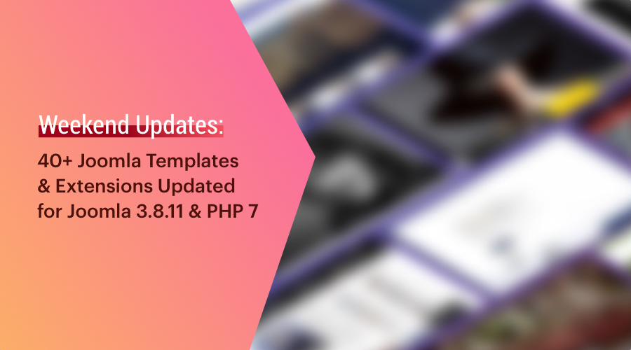 20+ Shape 5 templates and extensions updated for latest Joomla and bug fixes