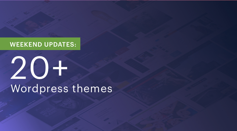 20 Shape5 WordPress Themes updated for bug fixes