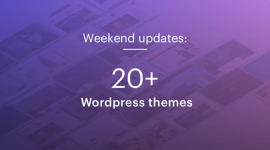 20+ Shape5 WordPress Themes updated for bug fixes