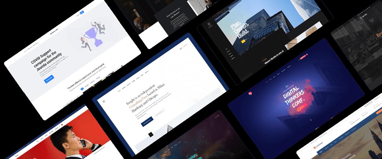 Business joomla website development