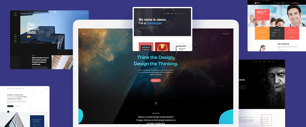 joomla portfolio website design service