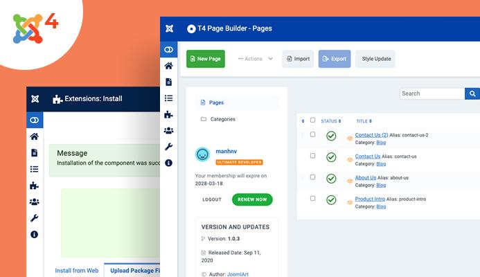 joomla page builder for Joomla 4