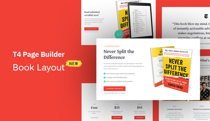 New Book Intro website bundle and bug fixes for T4 Page Builder