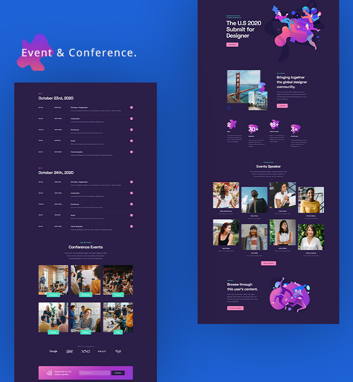 joomla page builder events layout bundle