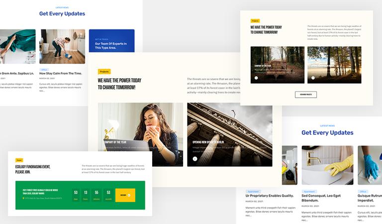 t4 joomla page builder new content blocks
