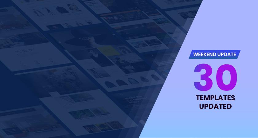 30 gavick Joomla templates updated