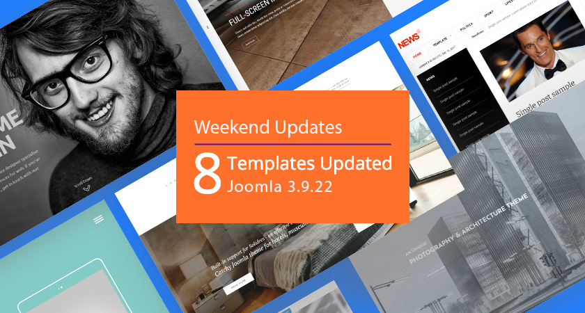 8 gavick Joomla templates updated