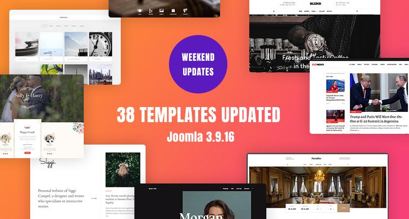 所有gavick Joomla模板已更新