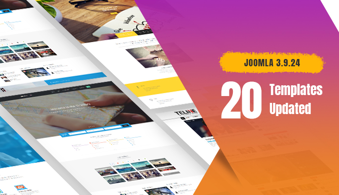 Weekend Updates: 20 Joomla templates updated for Joomla 3.9.24