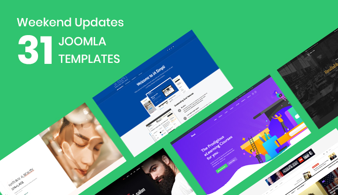 31 Joomla templates updated for Joomla 3.9.20