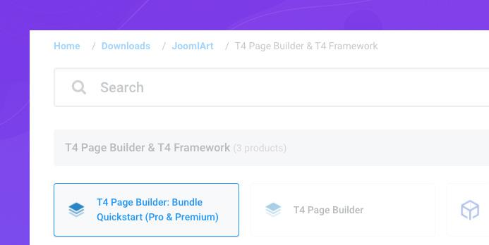 joomla page builder page import