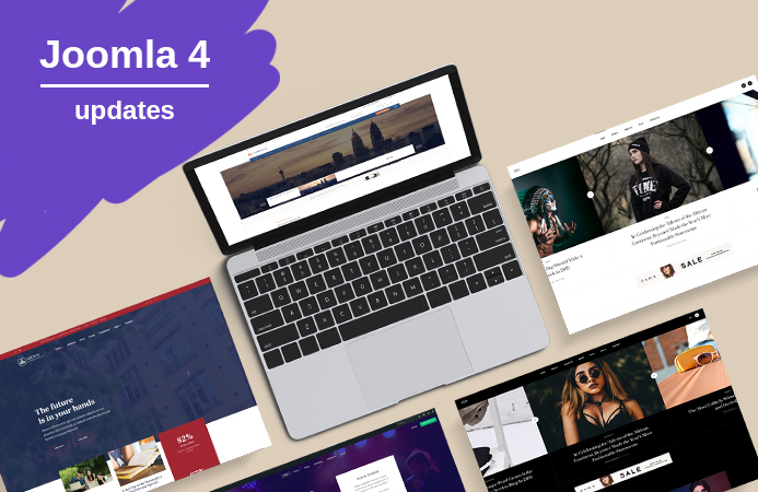 6 More Templates Updated to Joomla 4