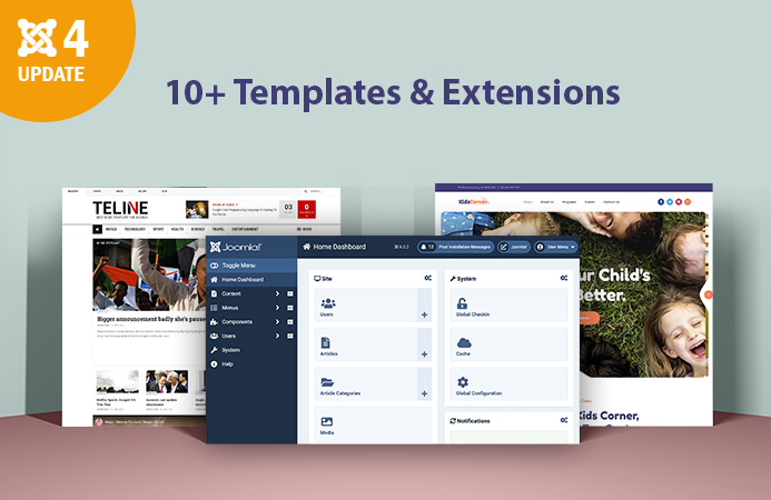 [Joomla 4] 10+ templates and extensions updated for Joomla 4.0.2