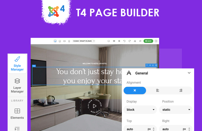 T4 Page builder for Joomla 4 is here
