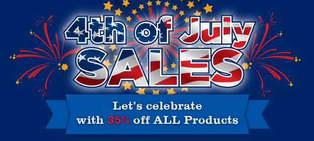 Enjoy 4th of JULY SALE with 35% off on all JoomlArt products
