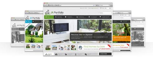 JA Portfolio - September Joomla Template (beta) Released...