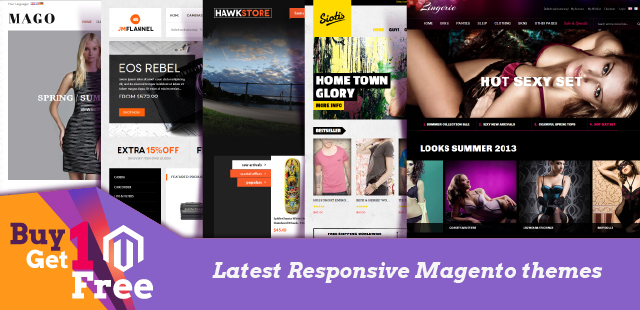 Go to Magento themes showcase