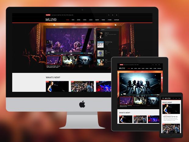 JA Muzic - Fully responsive design