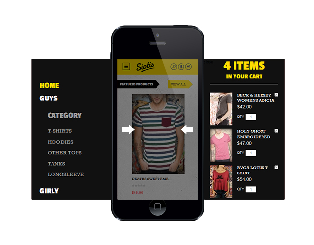 New Magento extensions - Off-canvas navigation for responsive Magento themes