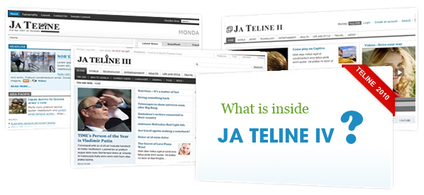 Ready for JA Teline IV ? Suggestions invited...