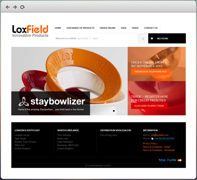LoxField website