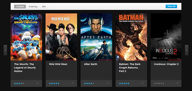 Review - Responsive Joomla template for Movies - JA Obelisk ...