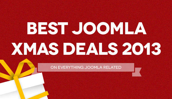 Best Joomla Christmas deals coupon code roundup 2013