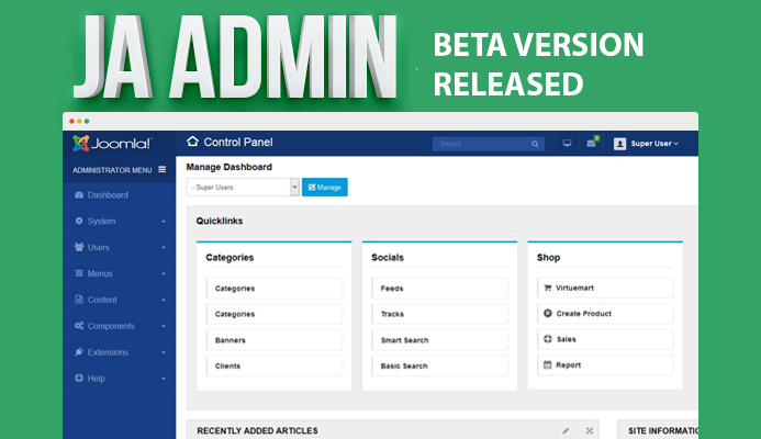 Admin joomla template ja admin beta released joomla templates admin joomla template ja admin beta released joomla templates and extensions provider maxwellsz