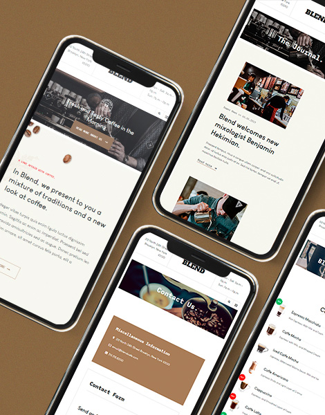 Mobile friendly restaurant Joomla template