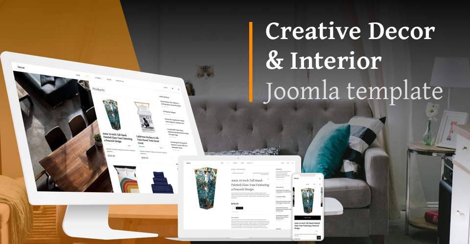 eCommerce Joomla template - GK Decor