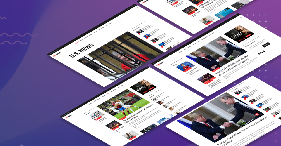 Dedicated designed for News, Magazine, Editorial sites - gavick evo news Joomla template