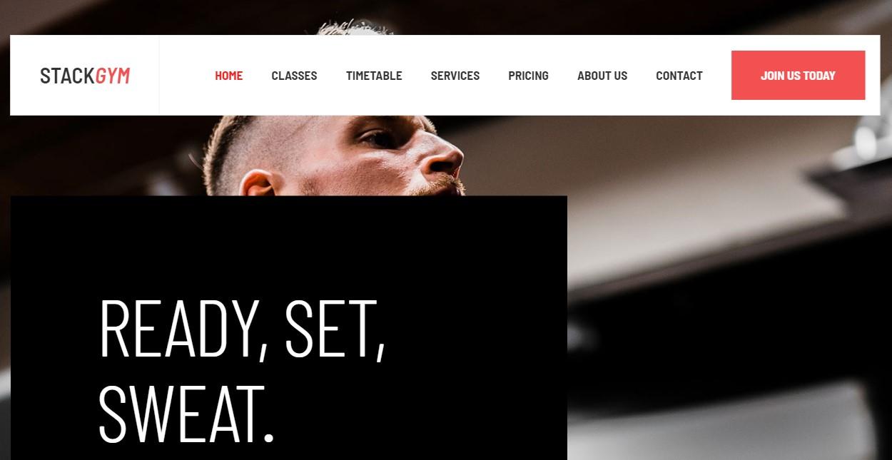 GK Fit homepage settings