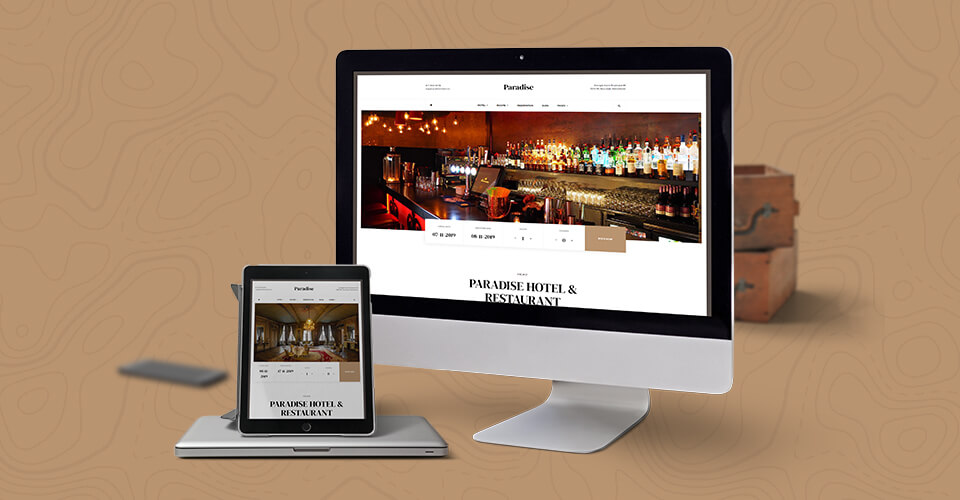 Responsive Joomla template for hotel and resort website