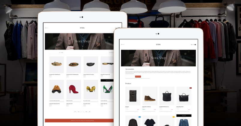 shopping page GK Stora joomla template