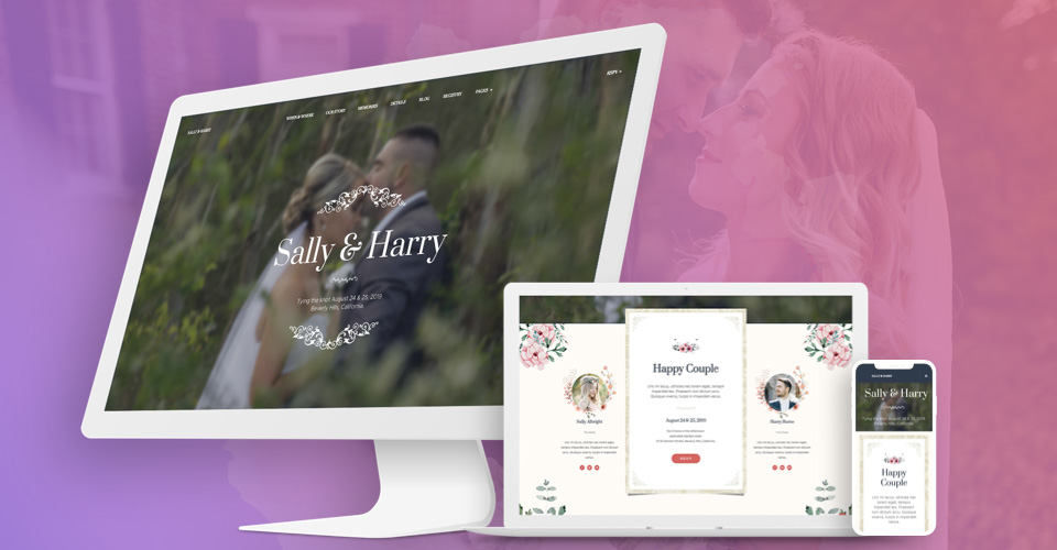 Responsive news Joomla template - GK Wedding Joomla template