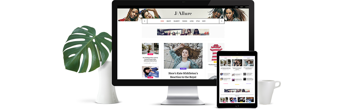 JA Allure Template Released